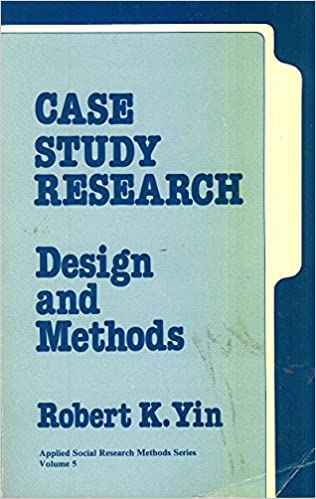 multiple case study design yin Keywords case studies, comparable cases, multiple-method, process tracing, research design introduction the study of peace and war cuts across many disciplines and across theoretically and methodologically defined research communities within political science while scholars within different research communities have long worked in isolation.