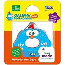Galinha Pintadinha Mini Mordedor de Agua, Toyster Brinquedos, Multicor