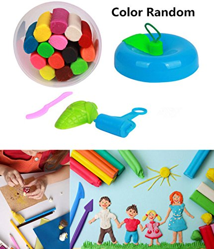 MAZIMARK-2016 14Pcs New Kids Play Dough Doh Clay Modeling Cutter Tool Toy Craft Gift (World Book Day Costume Ideas 2016)