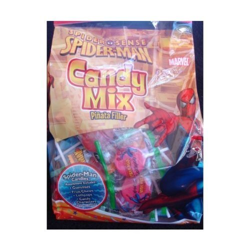 Spider-Man Candy Mix/Pinata Filler 13.9oz / 394g by Frankford Candy