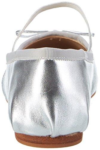 Argento Donna Silver London Ballerine Leather 216 Buffalo Metalic 6144 R0qOz
