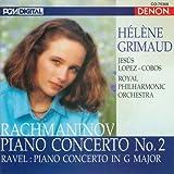 Hélène Grimaud ~ Rachmaninov - Piano Concerto No. 2 · Ravel - Piano Concerto in G major
