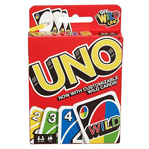 Mattel Games Uno Card Game 42003