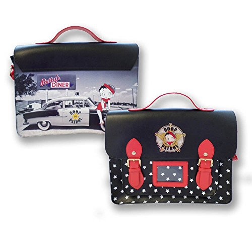 Betty Boop Diner Patrol 57 56 Chev Satchel Purse Rockabilly Cross Body Bag