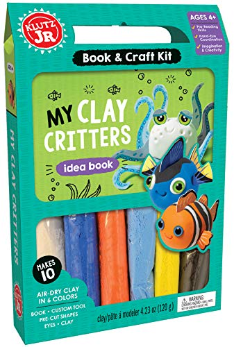 Klutz My Clay Critters Craft Kit for Ages 4 Jr