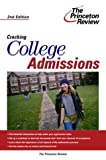 Cracking College Admissions, Princeton Review Staff, 0375764151
