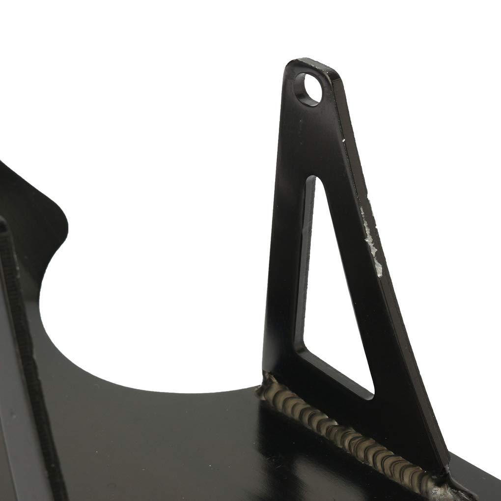 Zerama Noir Pit Bike Plaque de Protection Moteur Protection Moteur Compatible pour Honda CRF CRF50 XR50 XR 50 CRF70