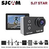 Sport Action Camera, Newest Original SJCAM SJ7 Star 1080P Action Cam Waterproof Sport DV Camera (Black)