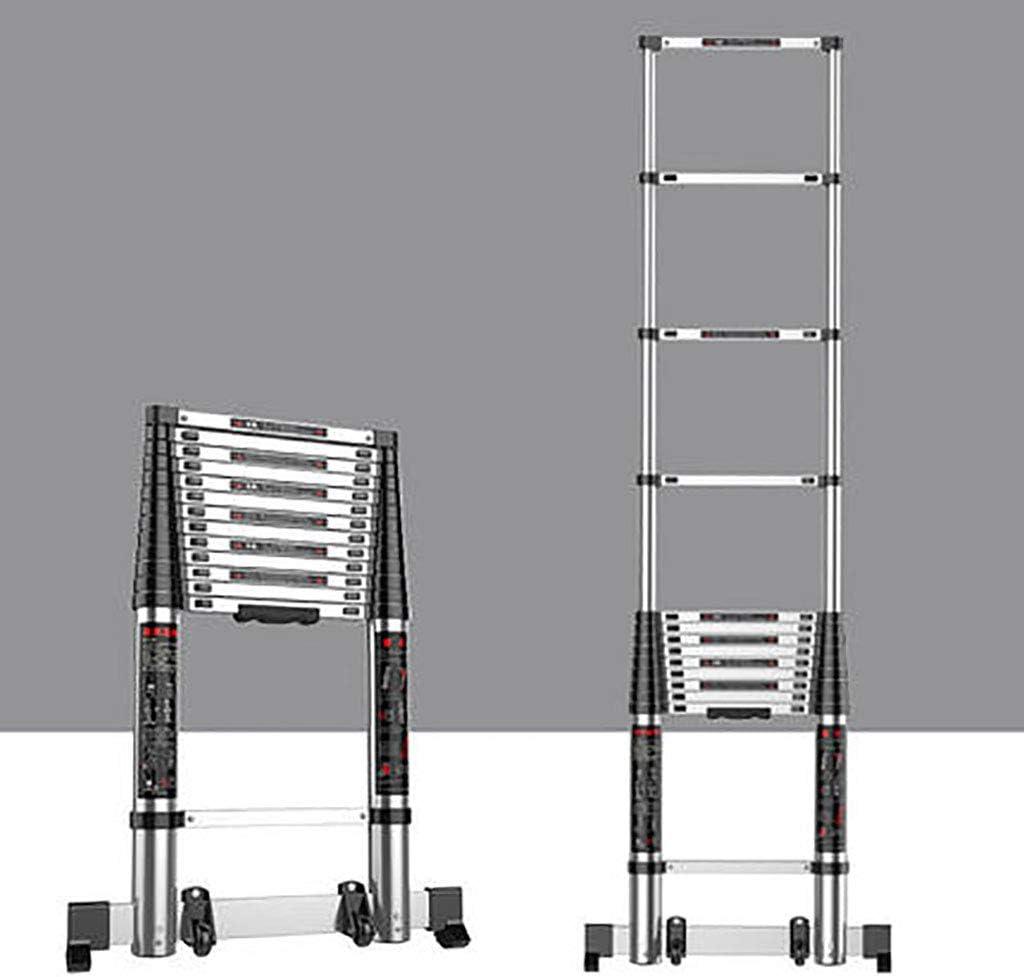Aluminio Aleación Telescópico Escalera,extensión Escalera Multifunción Escalera Portátil Plegables Extensible Escaleras De Mano Multi Propósito Escalera-c3 3.1m: Amazon.es: Bricolaje y herramientas