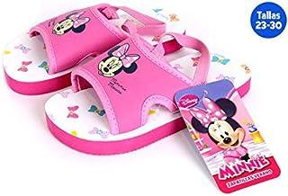 Chaussures été enfants avec gomme Minnie Fuchsia–Taille E2–Taille E2 IDEALCASA KIDS
