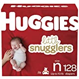 Baby Diapers Size Newborn, 128 Ct, Huggies Little