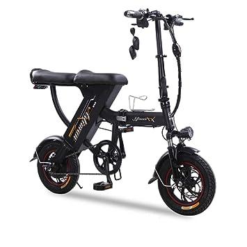 CSJD Bicicleta eléctrica, Bicicleta Plegable Bicicleta portátil ...