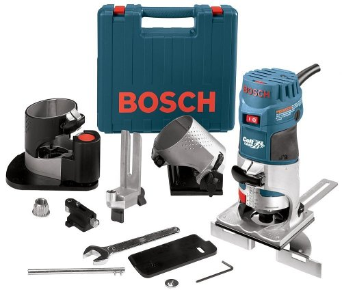 - Bosch PR20EVSNK Colt Installers Kit 5.7 Amp 1 Hp Fixed-Base Variable-Speed Router with 3 Assorted Bases and Edge Guide