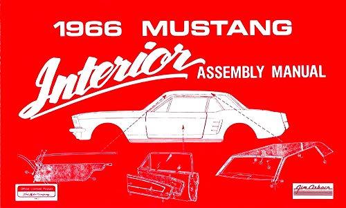 1966 Ford Mustang Interior Assembly Manual Reprint (Mustang Interior)