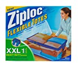 Ziploc Flexible Totes, XX-Large (Pack of 5)