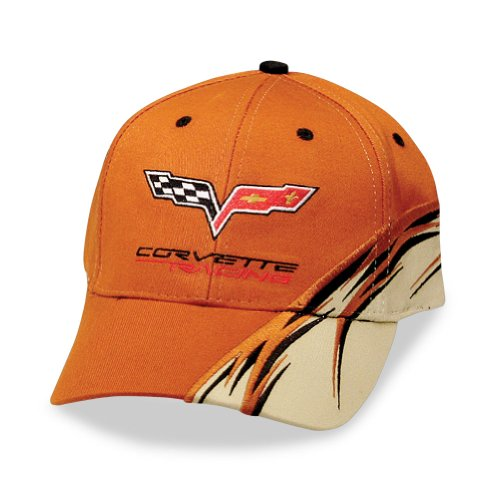West Coast Corvette Racing Orange Flash Hat : C6 Logo