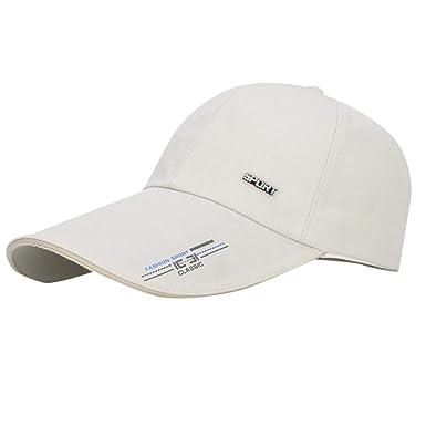 Qiiueen Sombrero De Hombre Y Mujer, Sombrero Protector Solar De ...