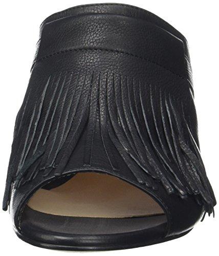Unisa Damen Ozi_st Slingback Schwarz (Black)