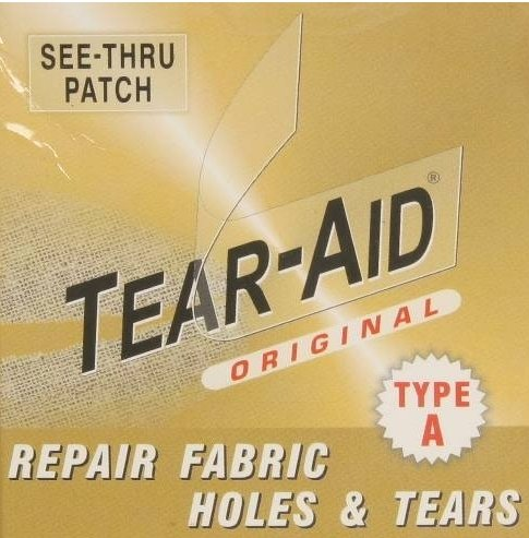 "Leather Sofa Couch Chair Car Seat Hole Repair Patch TEAR AID: 6""x12"" A"