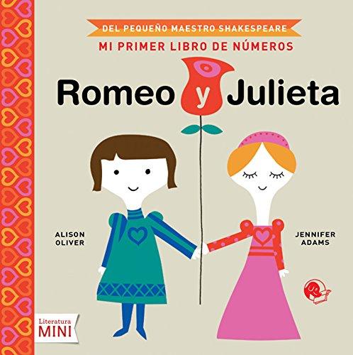 Romeo y Julieta, Mi primer libro de números Literatura Mini ...