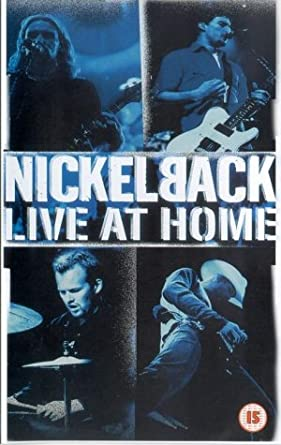 dvd nickelback live at home