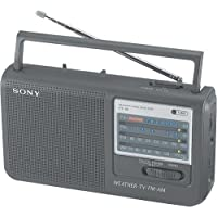 Sony ICF-36 Portable AM/FM/TV/Weather Radio (Discontinued by Manufacturer)