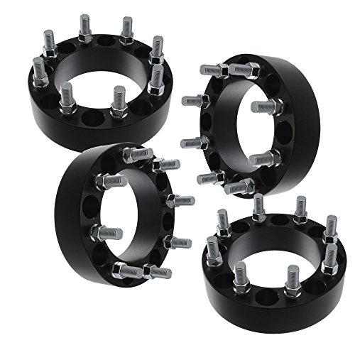"Set of 4 | 1.50"" 8x6.5 Wheel Spacers 
