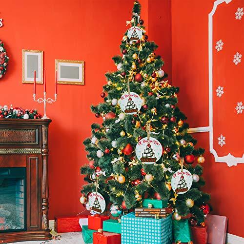 Inno-Huntz Toilet Paper Christmas 2020 Ornament for Christmas Tree Cute Decoration Pendant Ceramic Ornament Quaran-Tree Hanging Lovely Accessory Merry Christmas 2020 Holiday Home Decor Present