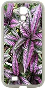 Blueberry Design Galaxy S4 Phone Case purple Leaves - Ideal Gift