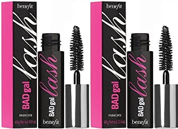 872db9f84a9 Amazon.com : Benefit Cosmetics BADgal Lash Mascara - Travel Sizes - 2 Units  : Beauty