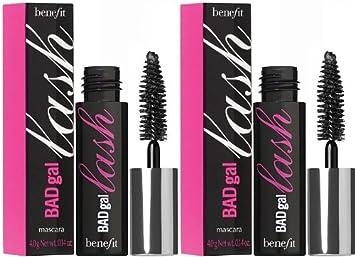 872db9f84a9 Amazon.com : Benefit Cosmetics BADgal Lash Mascara - Travel Sizes - 2 Units  : Beauty