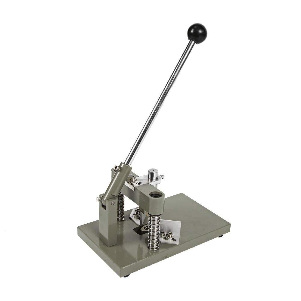 IRONWALLS Commercial Paper Corner Rounder Industrial Punch Cutter Machine with Paper Holding Device Metal Heavy Duty for Office Business Factory by IRONWALLS