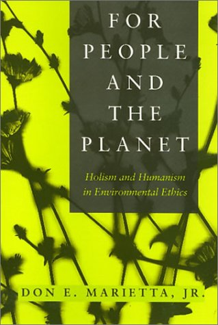 People And The Planet: Holism and Humanism in Environmental Ethics (Environmental Ethics Values - Marietta Ga Stores In
