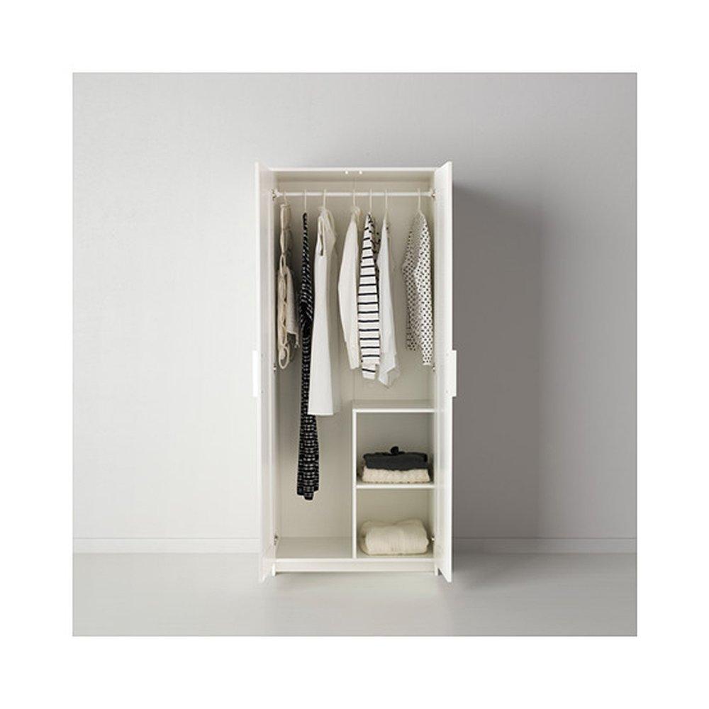 Brimnes Home Schlafzimmer Wardrobeswardrobe Mit 2 Turen Weiss