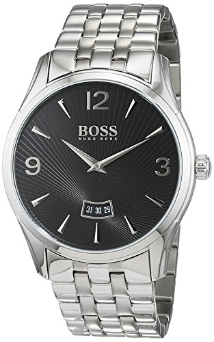 Hugo Boss Men's 1513429 Silver Stainless-Steel Analog Quartz Watch