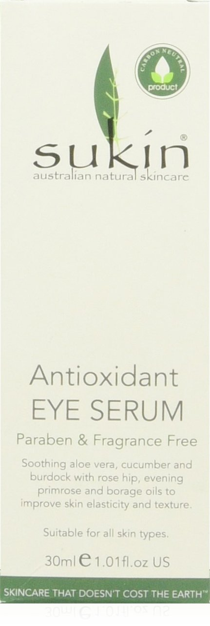 Sukin Antioxidant Eye Serum 30ml BWX PTY LTD SAES