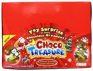 Choco Treasure Ornament, 12-Count box