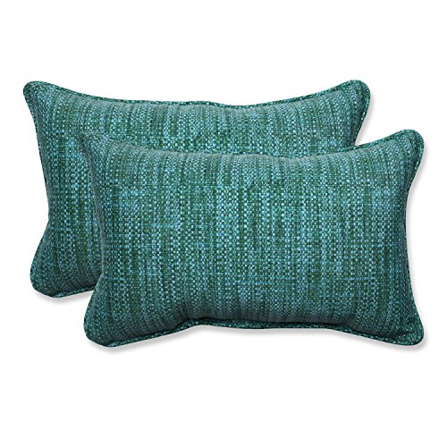 Pillow Perfect Outdoor/Indoor Remi Lagoon Rectangular Throw Pillow (Set of 2)