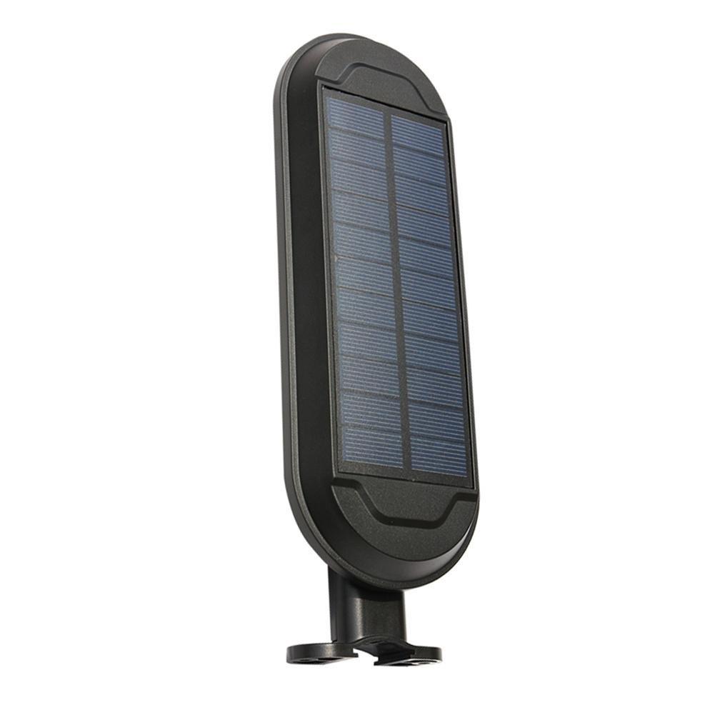 Stra/ßenlampe Led Solar Stra/ßenbeleuchtung Licht mit Menschliche K/örper Induktion Beleuchtung Schwarz