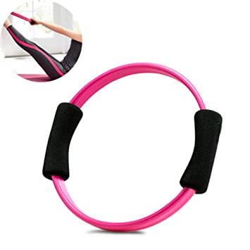 CWDXD Rueda Yoga para Anillo de Pilates - Círculo de ...