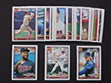 Minnesota Twins 1991 Topps Baseball Team Set (World Series Champions) (29 Cards) (Kirby Puckett) (Gary Gaetti) (Kent Hrbek) (Dan Gladden) and More