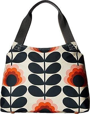 Orla Kiely Summer Flower Stem Classic Zip Shoulder Bag