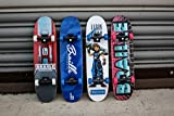 Braille Skateboarding Four Pack Aaron Kyro 11inch Professional Hand Board. Toy Skateboard Comes with Wheels, Trucks, Hardware and Tools. Real Griptape.