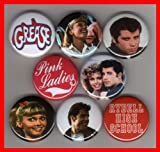 Grease Set of 8 - 1 Inch Magnets