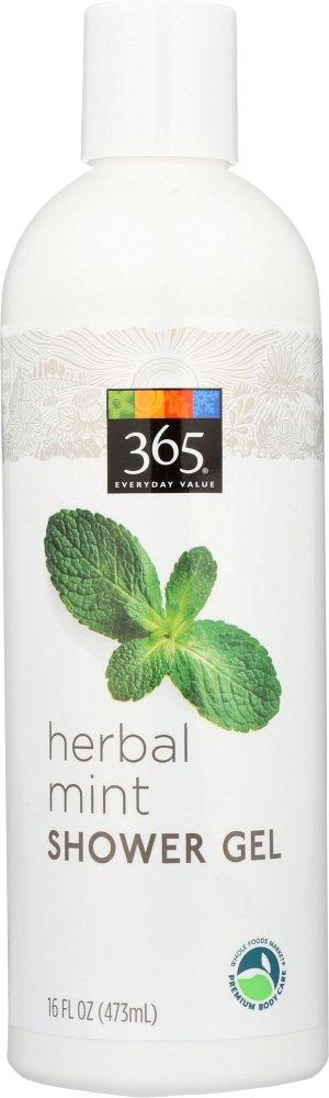 365 Everyday Value, Herbal Mint Shower Gel, 16 fl oz