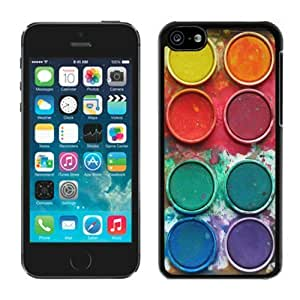 BINGO cheap price Watercolor Sets Witeh Brushes 13 iPhone 5C Case Balck Cover