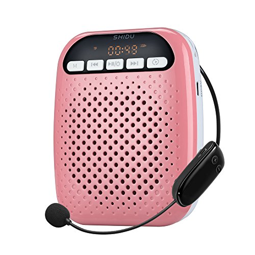 SHIDU Rechargeable Ultralight Detachable Microphone