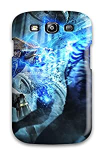 Awesome Qhzvloy5109xeoEZ Barbauller Defender Tpu Hard Case Cover For Galaxy S3- Raiden In Mortal Kombat Begins 2011