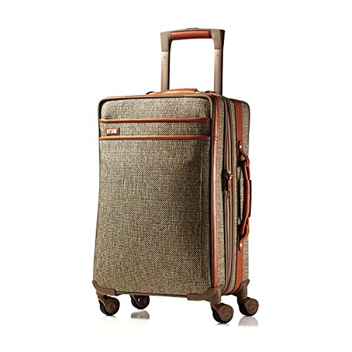 Hartmann Tweed Collection Carry On Expandable Spinner, Natural Tweed, One Size by Hartmann
