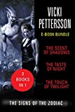 Front cover for the book The Taste of Night by Vicki Pettersson